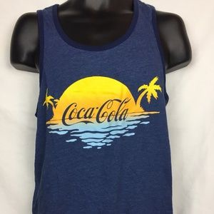 Coca-Cola Logo Casual Summer Tank Top